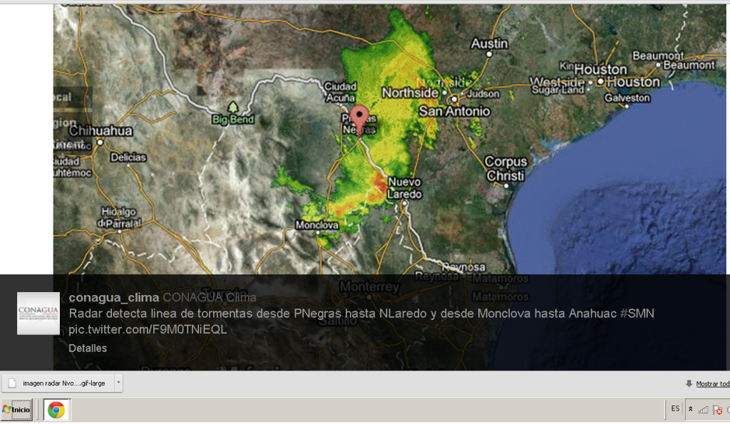 Pronostico del tiempo para nuevo laredo y el valle de - El clima en laredo texas ...