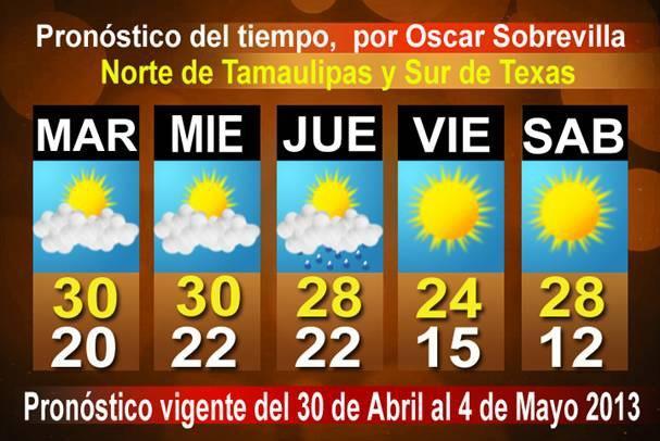 Pronostico del tiempo en tamaulipas nuevo laredo blogs - El clima en laredo texas ...