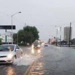 lluvias en McAllen